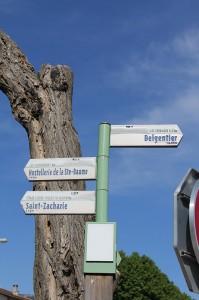Sentiers GR9 et GR99 balisés